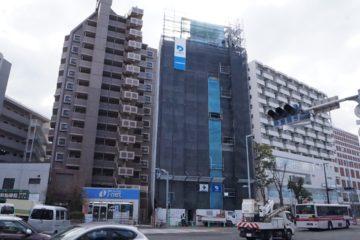 i・net BLD建築中。